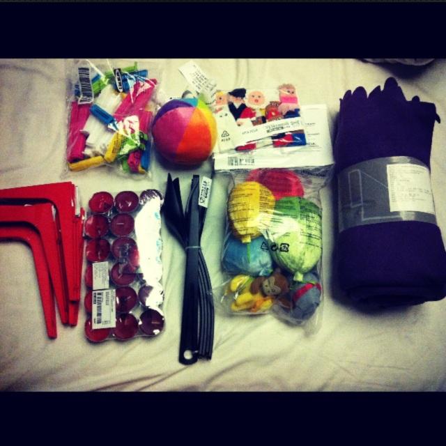 Barang-barang yang dibeli di IKEA