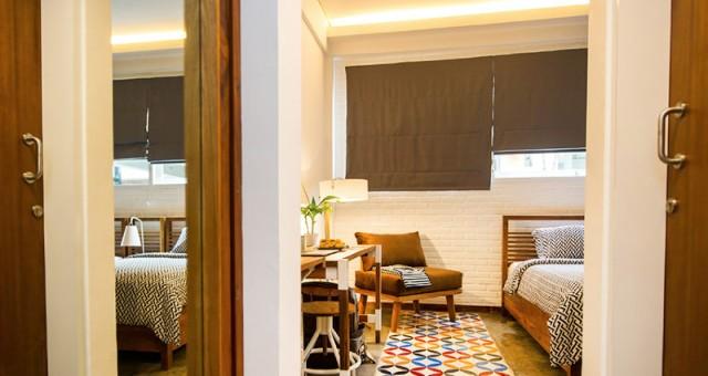 Kamar Type A, gambar diambil dari web Hotel Lokal