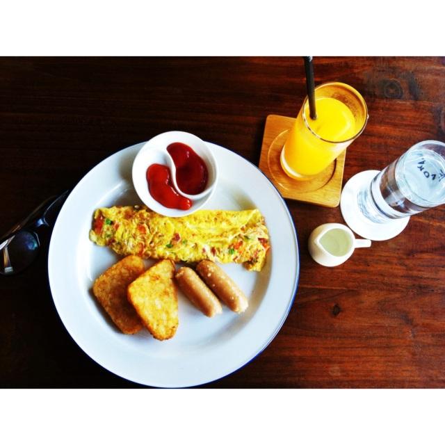 Menu sarapan Gue, foto pribadi.