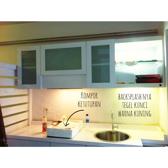 Kitchen Set yang belum kelar