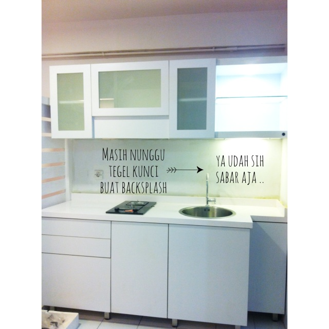 Kitchen set kesayangan