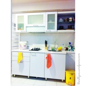 Dapur kesayangan pujaan hati ...